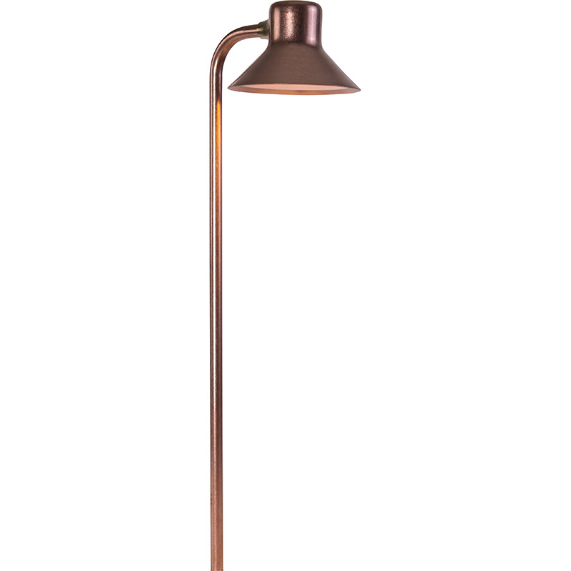 FG 3 LED Path Light in Copper