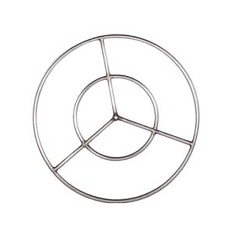 24 Inch Round Stainless Steel Fire Ring
