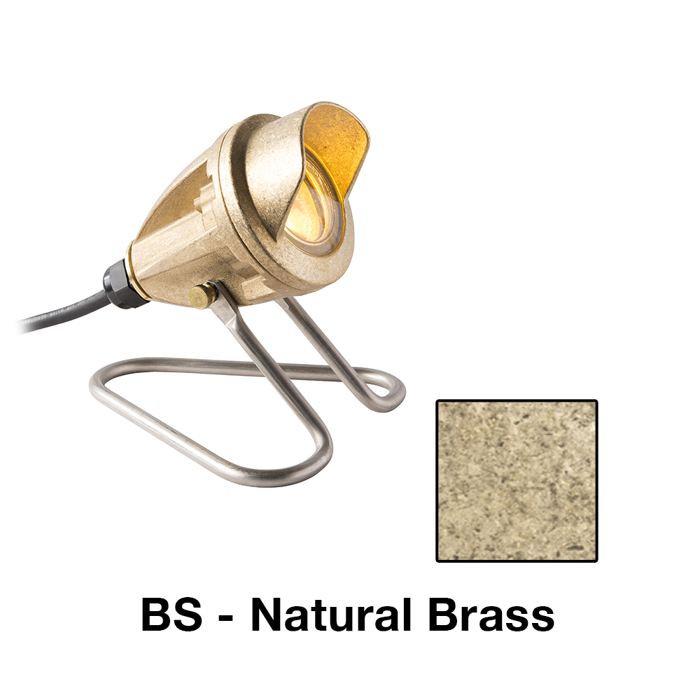 LL Zoning And Dimmable 1 LED In Natural Brass