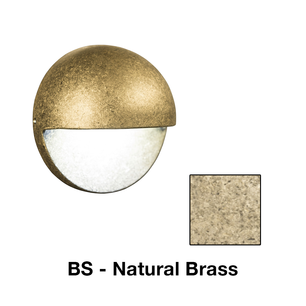 MS Zoning And Dimmable 1 LED In Natural Brass