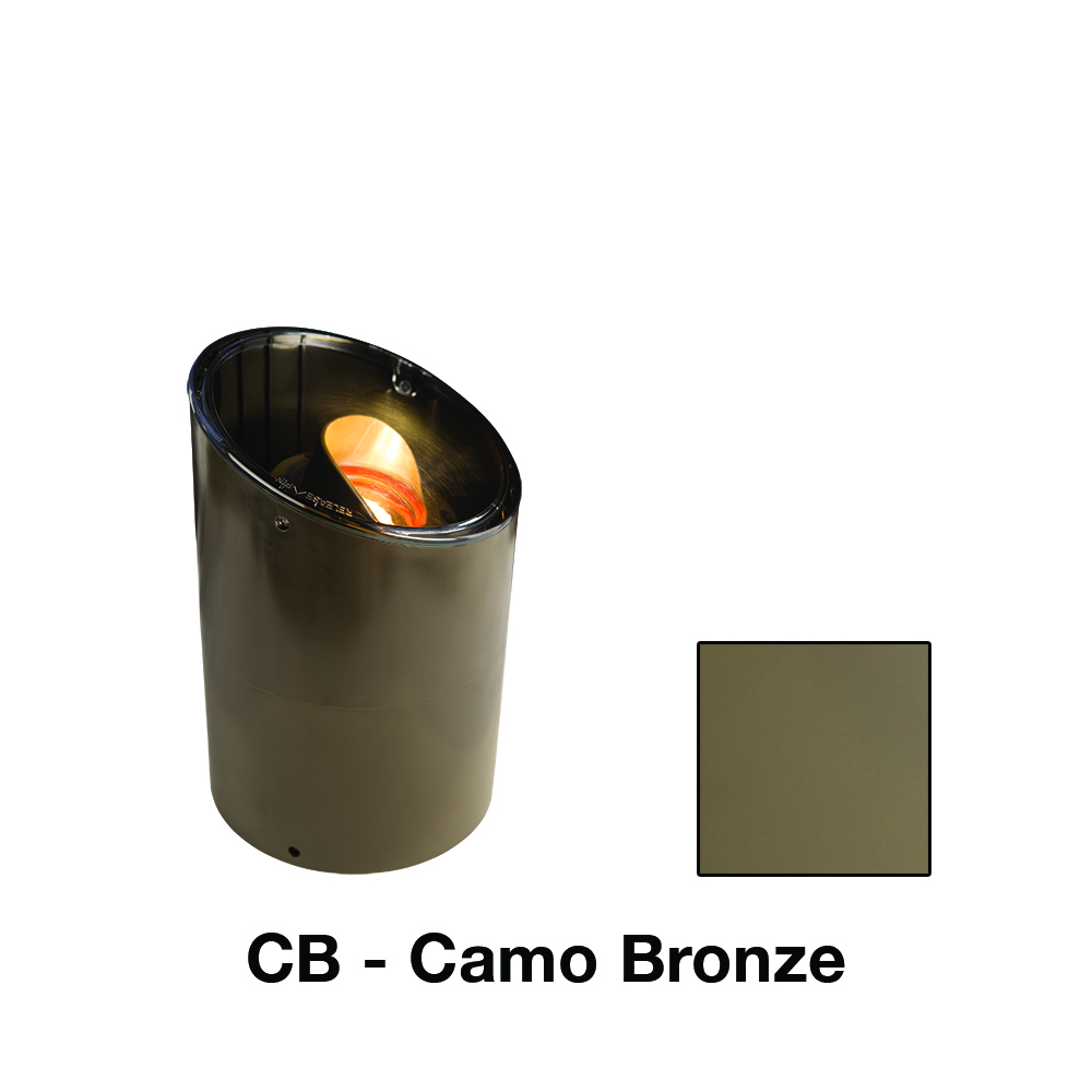 PE 9 LED Ring Grate In Camo Bronze