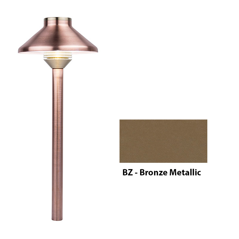 Grande Zoning and Dimmable Plus Color 24 Inch Riser In Bronze Metallic