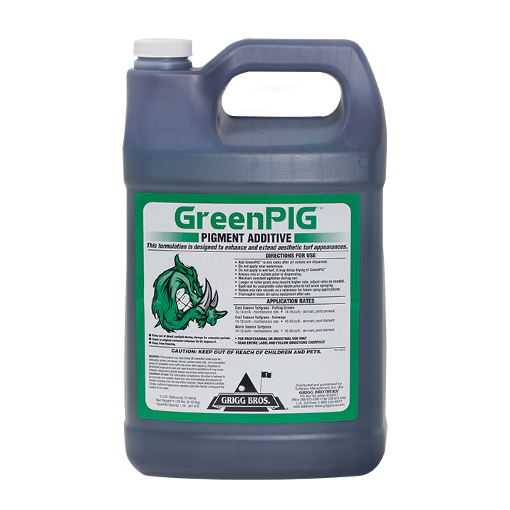 GreenPIG Pigment Additive - 2.5 gal.