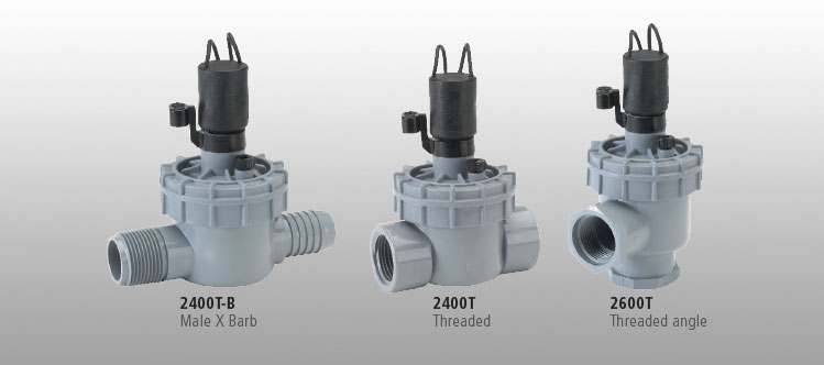 2600 Series 1 inch Angle Valve with Flow Control