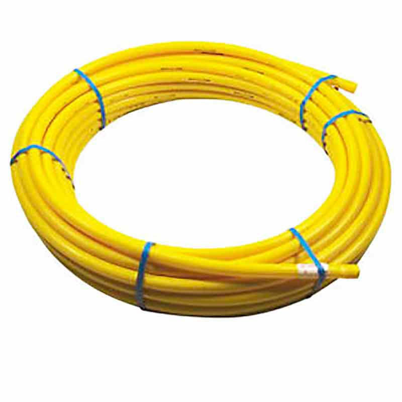 1-inch Yellow Polyethylene Gas Pipe