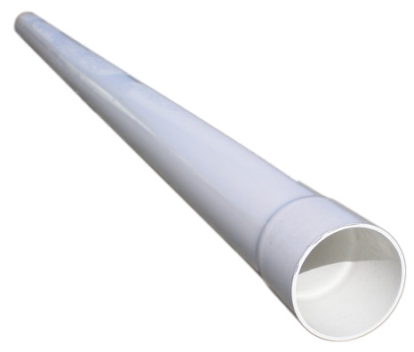 6-inch 10-foot Solid 2729 PVC Drain Pipe