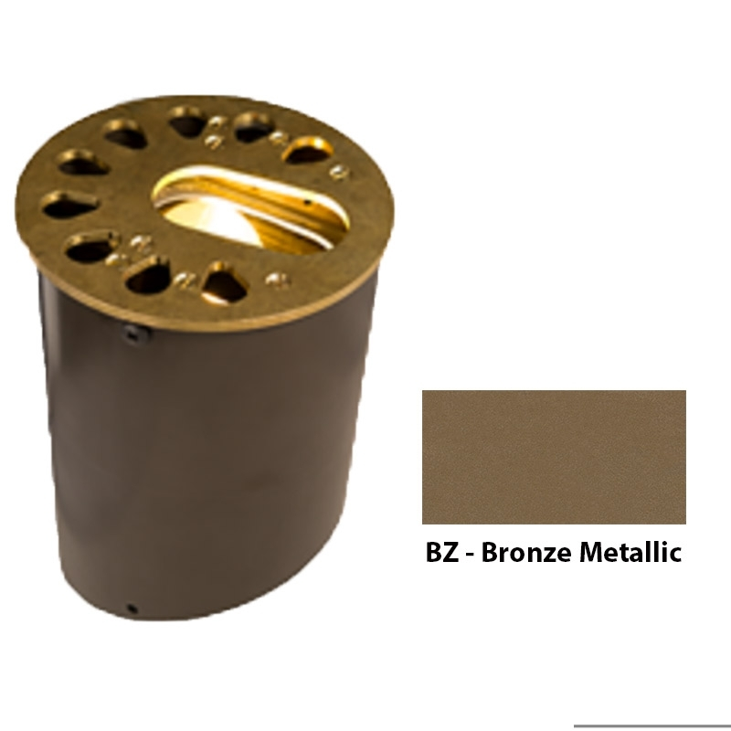 KG 3LED Zoning and Dimmable Plus Color Well Light In Bronze Metallic