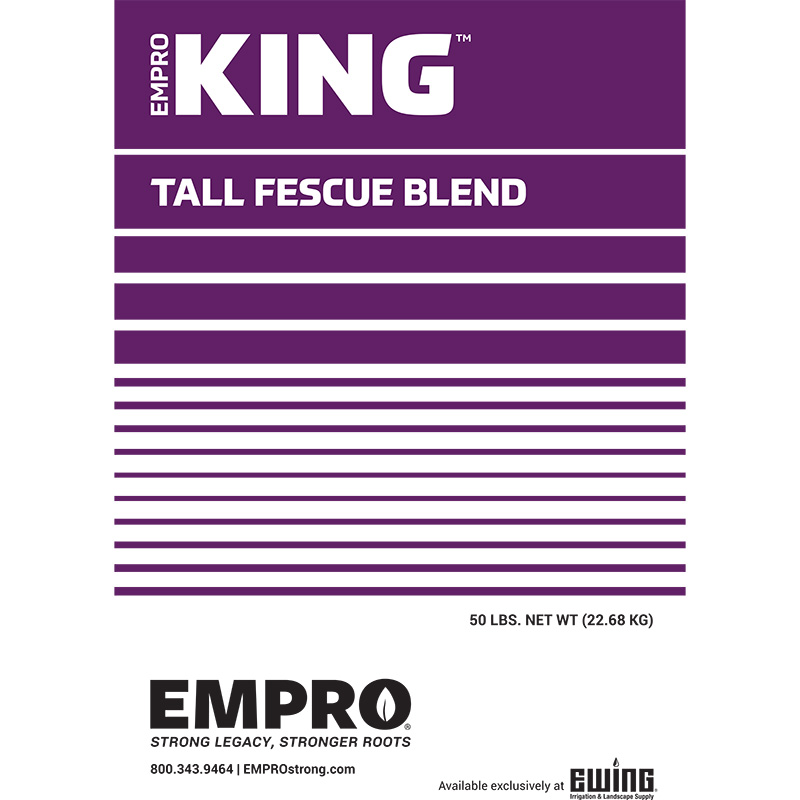 EMPRO King Tall Fescue Seed - 50 lb. Bag