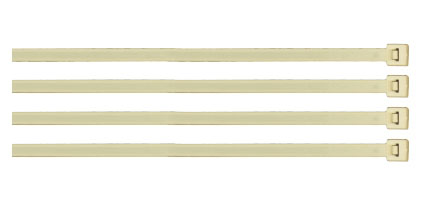 7-inch Nylon Cable Ties - 100 piece