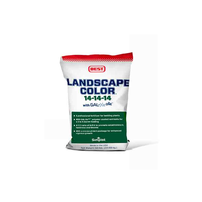 14-14-14 Landscape Color Fertilizer - 50 lb. Bag
