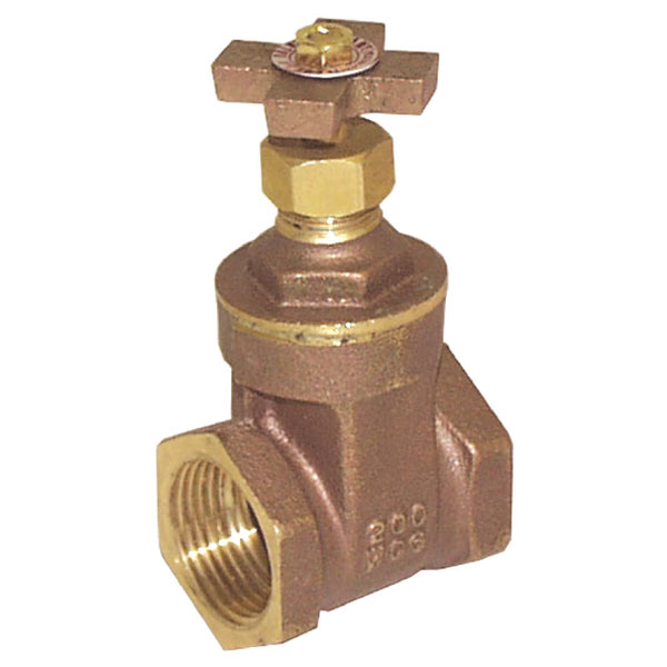 1-inch Brass Non-Rising Stem Gate Valve