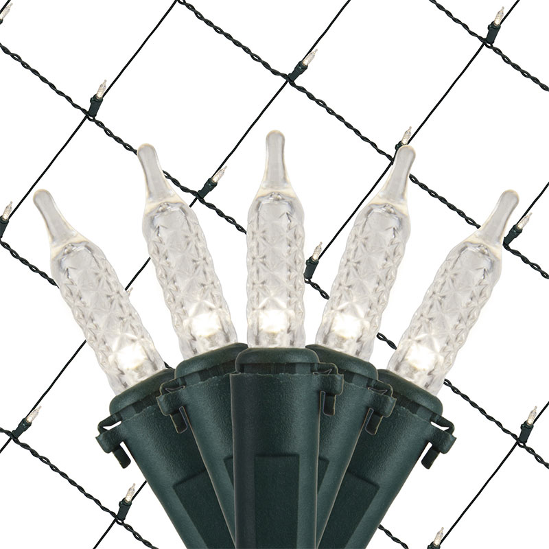 4-foot x 6-foot Pure White Net Lights
