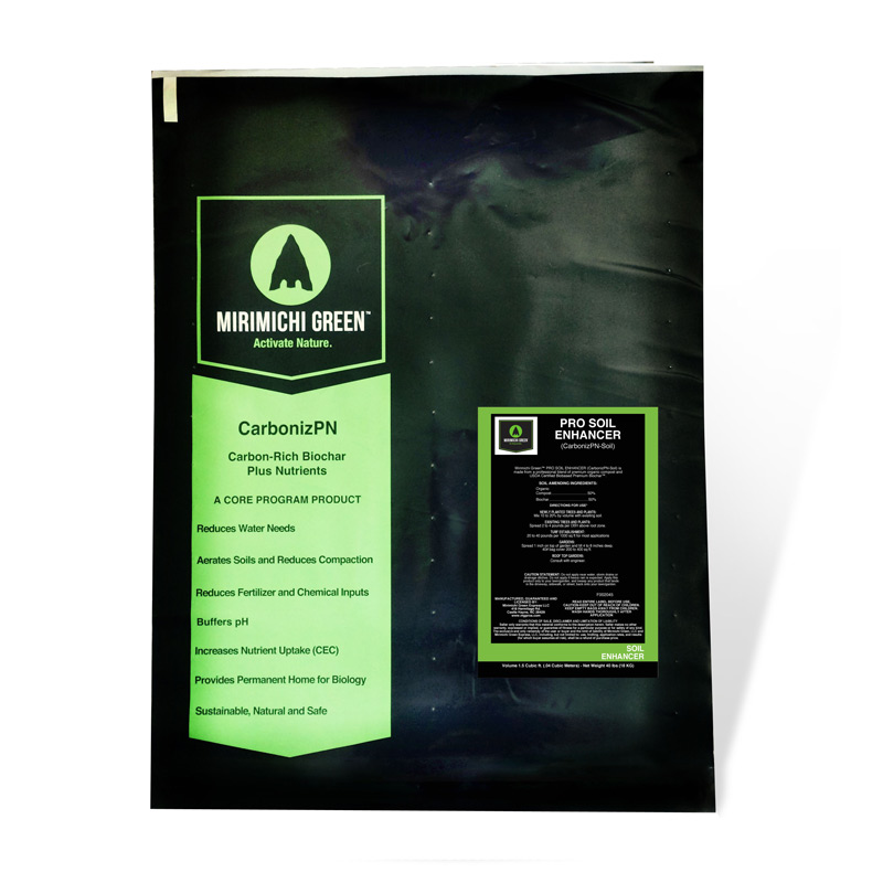 Pro Soil Enhancer CarbonizPN Fertilizer - 40 lb. Bag