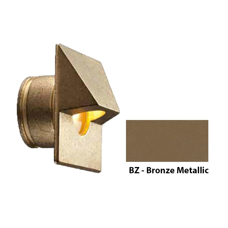 MO Zoning and Dimmable Plus Color Square Wall Light In Bronze Metallic