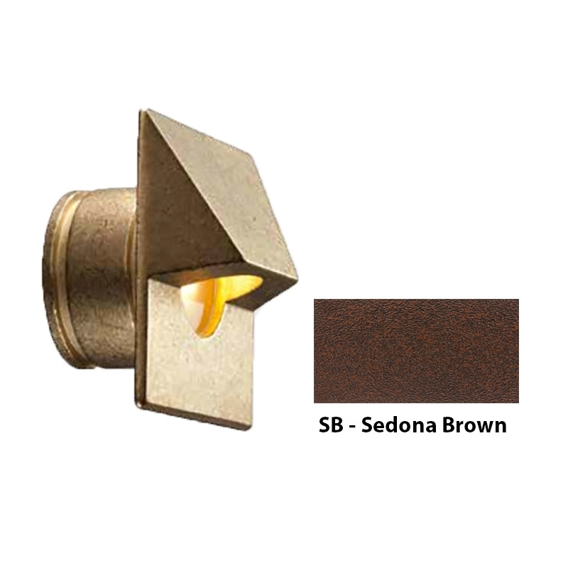 MO Zoning and Dimmable Plus Color Square Wall Light In Sedona Brown