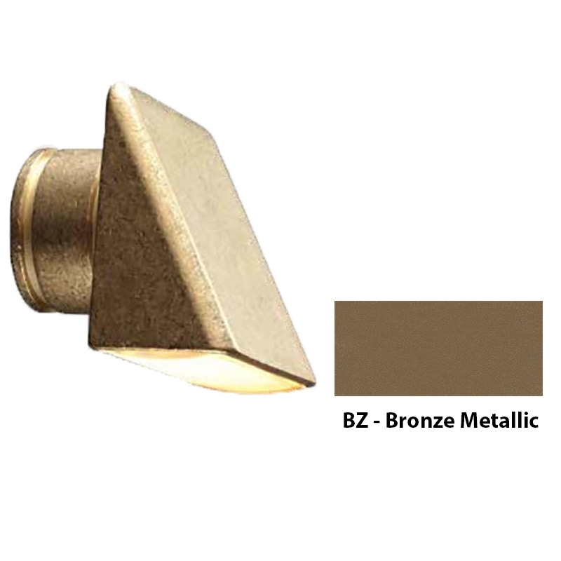MO Zoning and Dimmable Plus Color Wall Wash Wall Light In Bronze Metallic