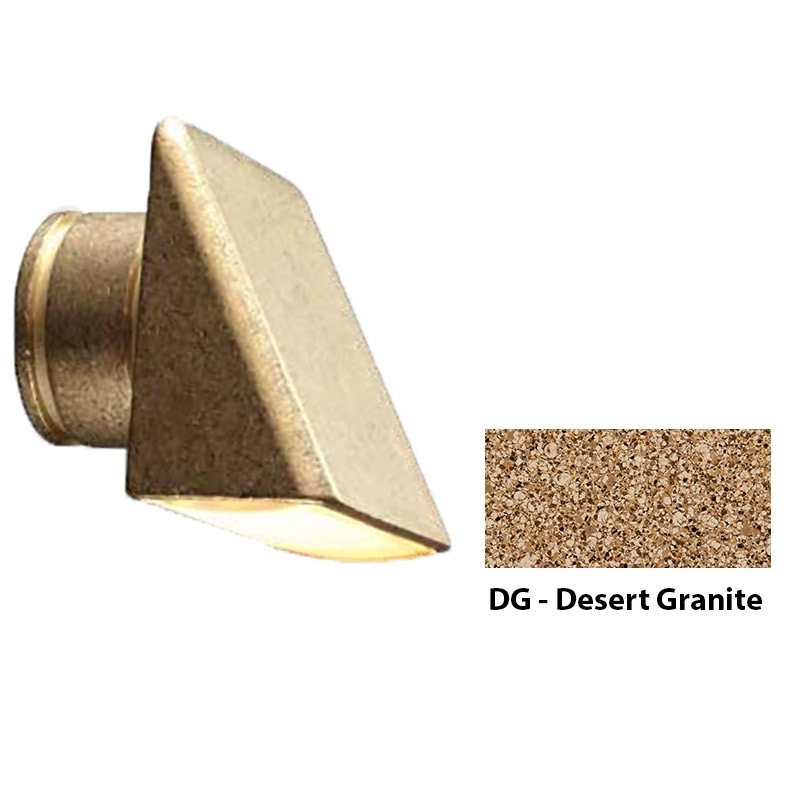MO Zoning and Dimmable Plus Color Wall Wash Wall Light In Desert Granite
