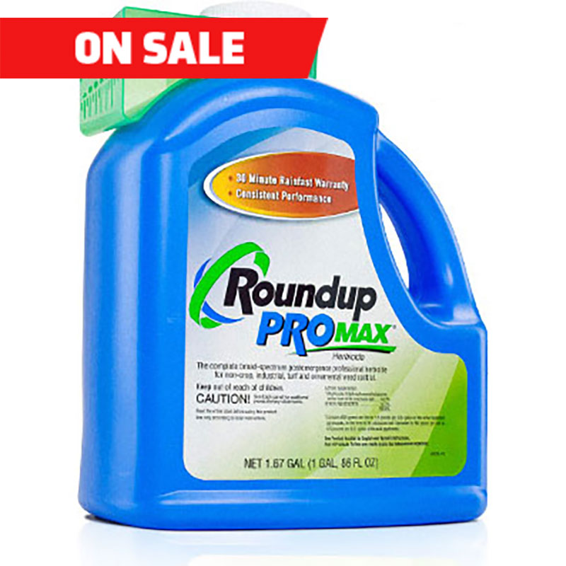 Roundup ProMax Herbicide 1.67 gal. Bottle
