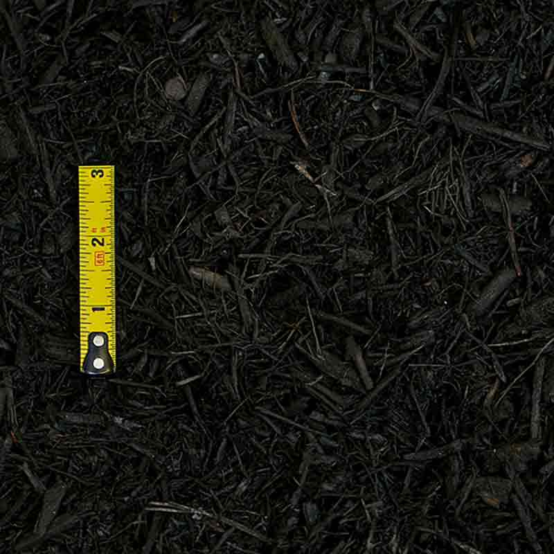 Black Dyed Hardwood Mulch - 2 cubic feet bag