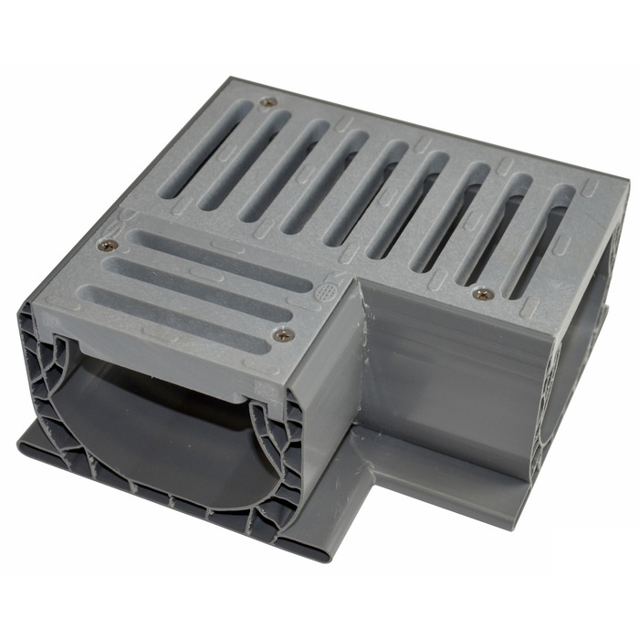 Spee-D Channel Drain 90 with Grate