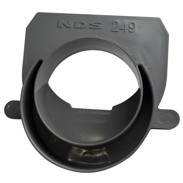 Spee-D 3-inch x 4-inch Channel Drain Sewer Spigot End Outlet