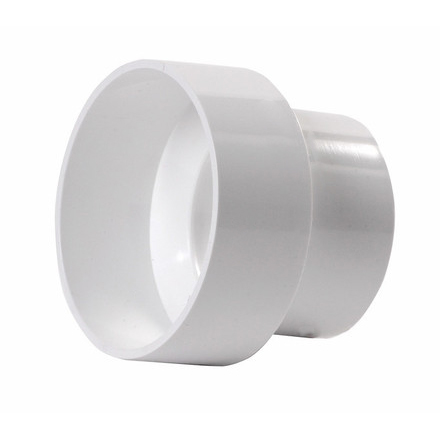 4-inch x 6-inch PVC Drainage Reducer Coupling