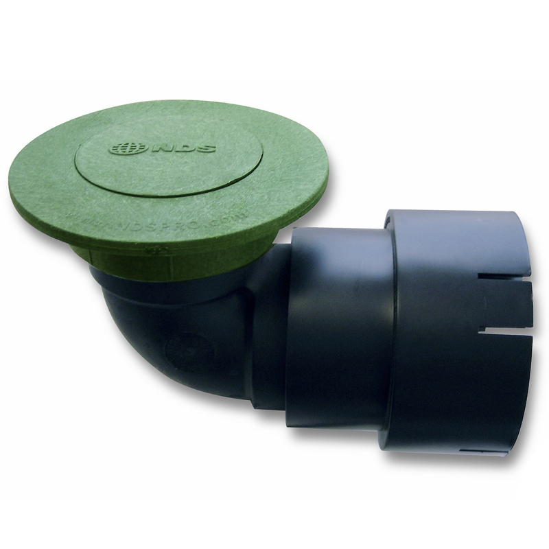 """Pop-Up Drainage Emitter w/ 3"""" Elbow and Universal Adapter"""