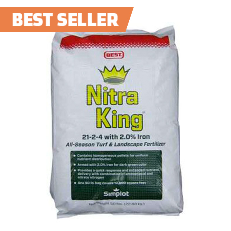 Nitra King 21-2-4 Fertilizer - 50 lb. Bag