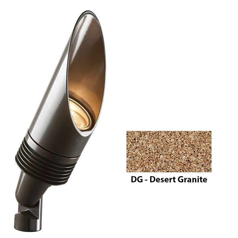 NP 3 LED Zoning and Dimmable Plus Color Long Shield Up Light In Desert Granite
