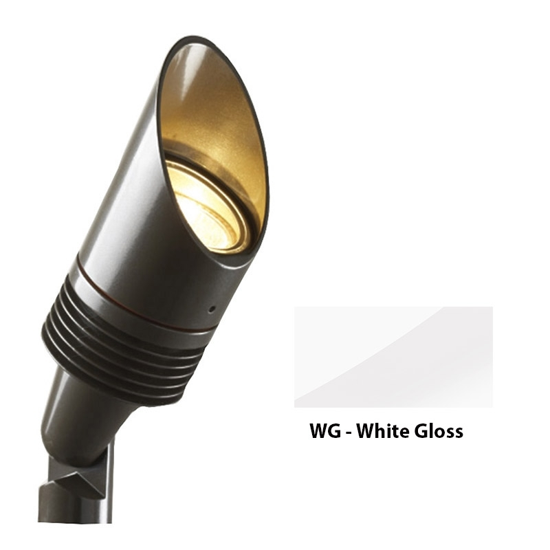 NP 3 LED Zoning and Dimmable Plus Color Up Light In White Gloss