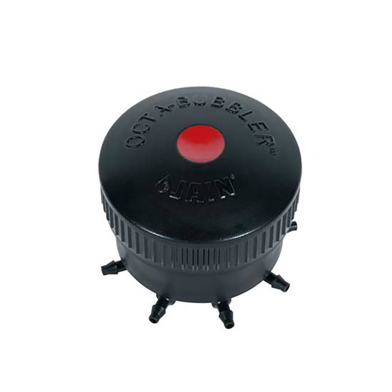 Red Octa-Bubbler Eight Outlet Emitter - 10GPH