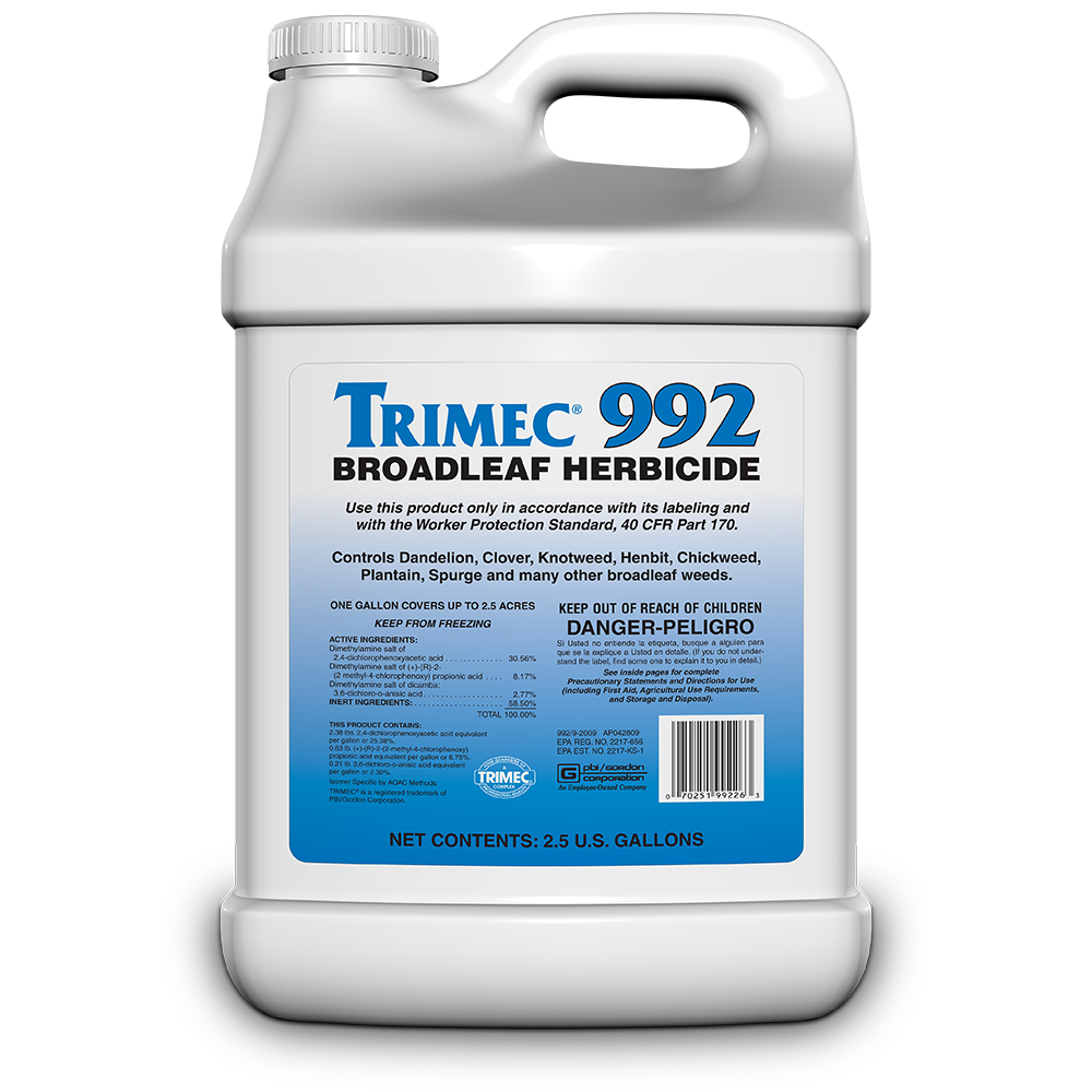 Trimec 992 Broadleaf Herbicide - 1 quart Bottle