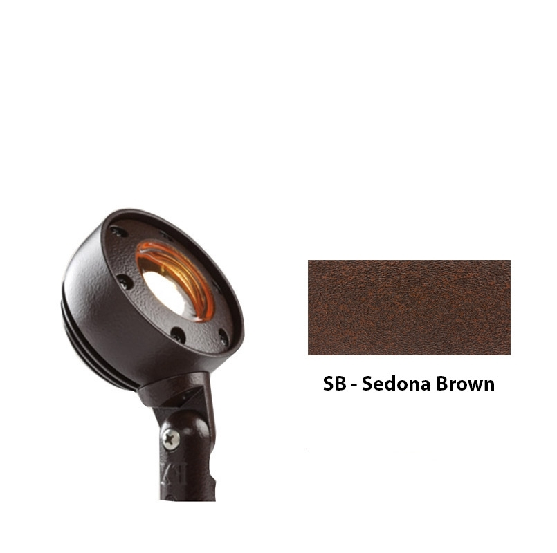 RW 3LED Zoning and Dimmable Plus Color Wall Wash Up Light In Sedona Brown