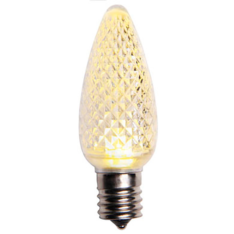 Warm White LED C9 Base Lamp