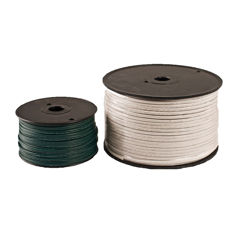 Light String Wire with No Sockets 1,000 Foot Roll