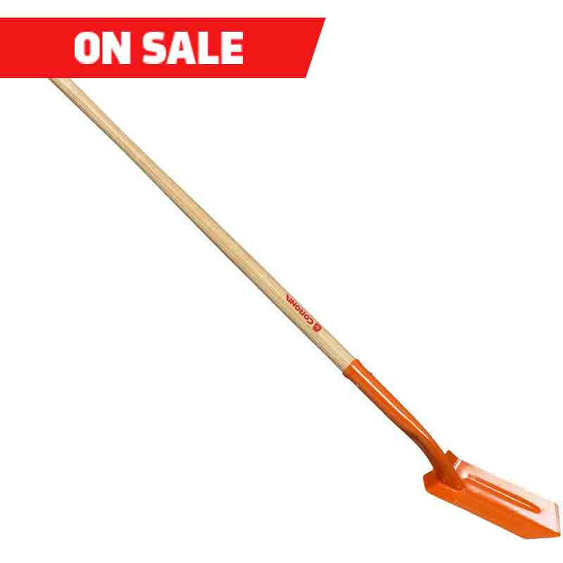 4-inch Wood Handle Trenching Shovel