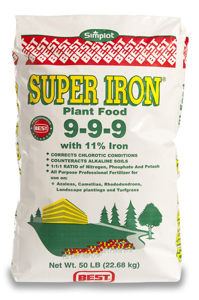 Super Iron 9-9-9 Fertilizer - 50 lb. Bag