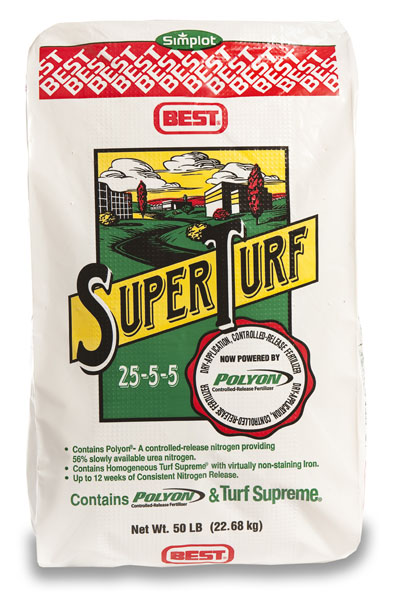 Super Turf 25-5-5 Fertilizer - 50 lb. Bag
