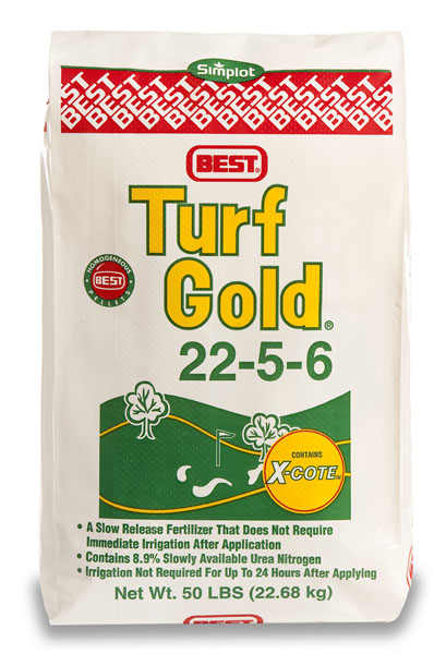 Turf Gold 22-5-6 Fertilizer - 50 lb. Bag