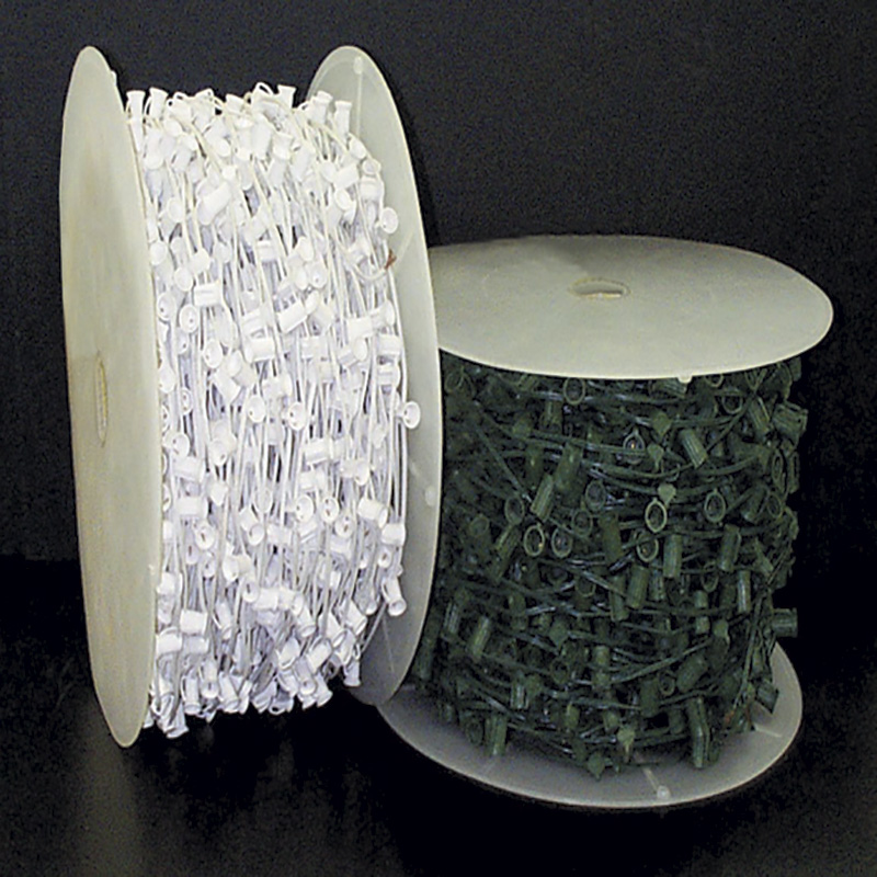 Lamp Green C7 Light String with Sockets 1,000 Foot Roll