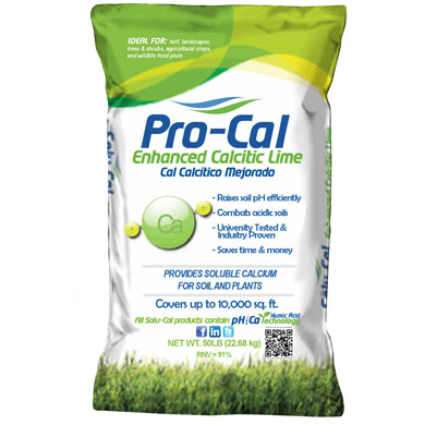 Pro-Cal Enhanced Calcium Lime - 50 lb. Bag