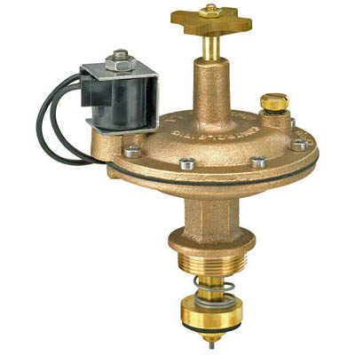 800 Series 1-inch Brass Electric Valve Adapter