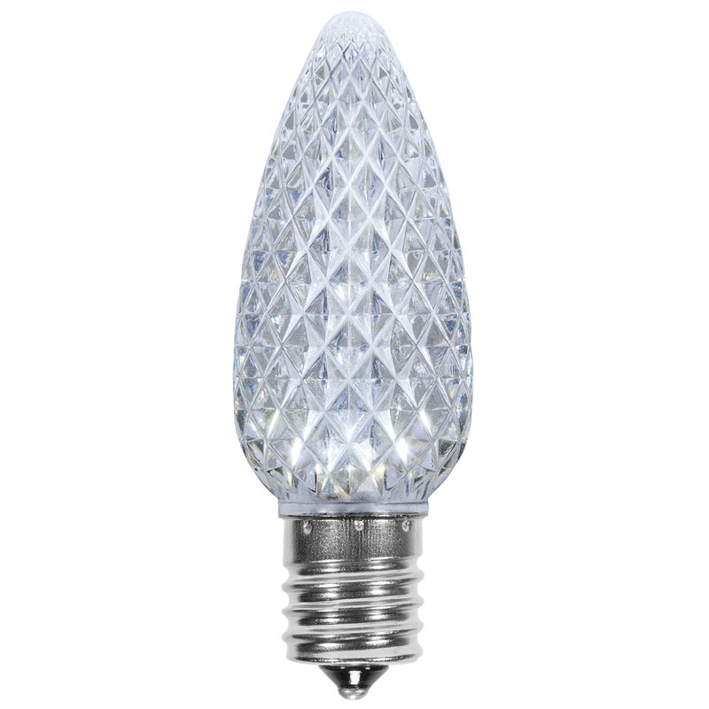 Cool White C9 SuperBrite LED Bulb