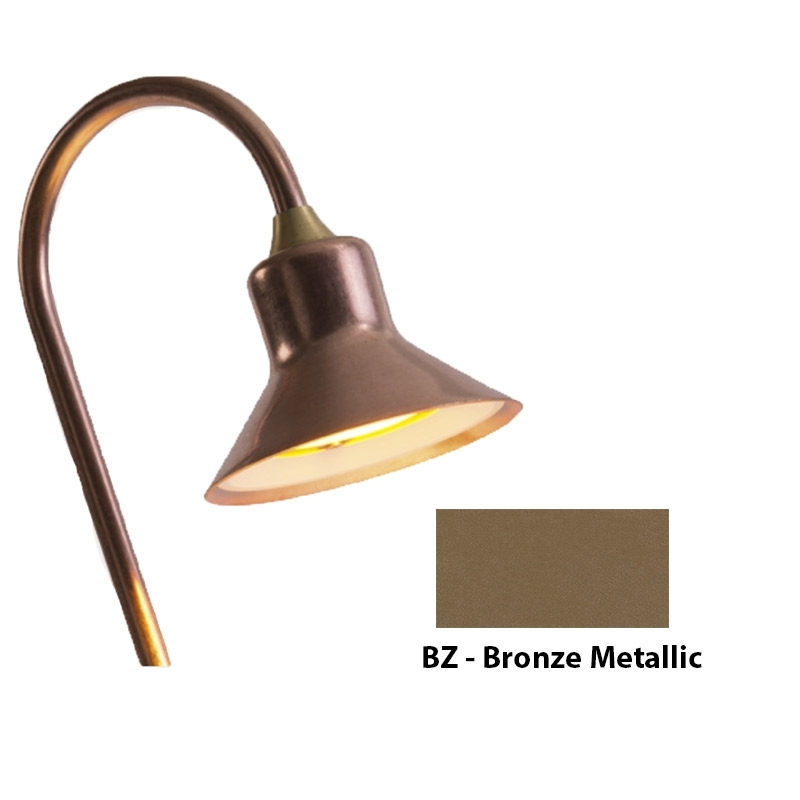 TD 3LED Zoning and Dimmable Plus Color Path Light In Bronze Metallic