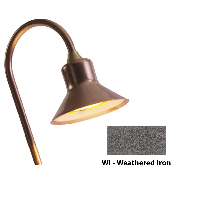 TD 3LED Zoning and Dimmable Plus Color Path Light In Weathered Iron