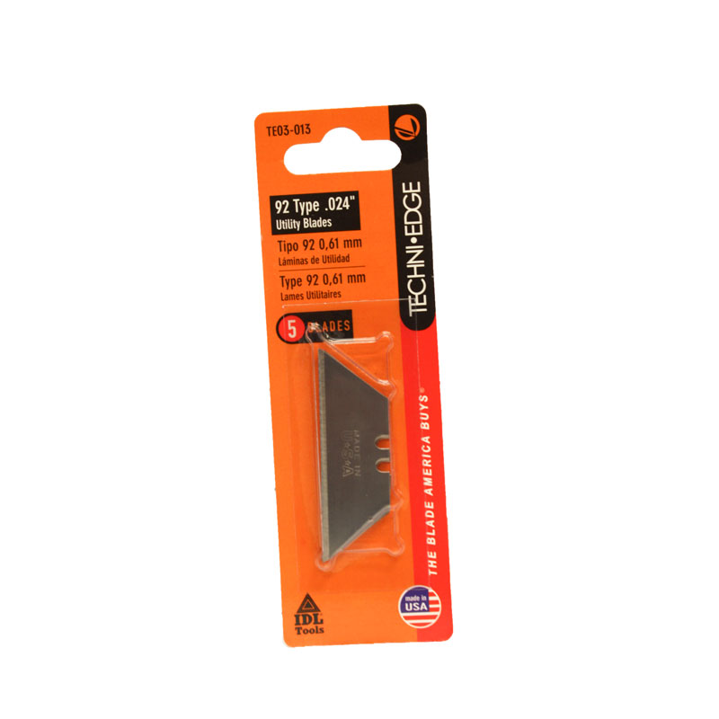Replacement Utility Blades - 5 pack
