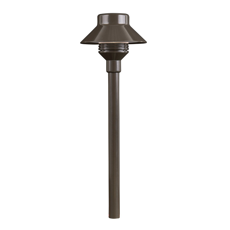 TM 20-Watt LED 12 Inch Riser In Bronze Metallic