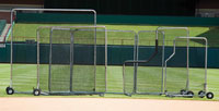 Professional Base Fungo Screen, 10' x 10'