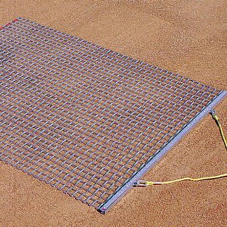 3 foot by 5 foot Steel Drag Mat