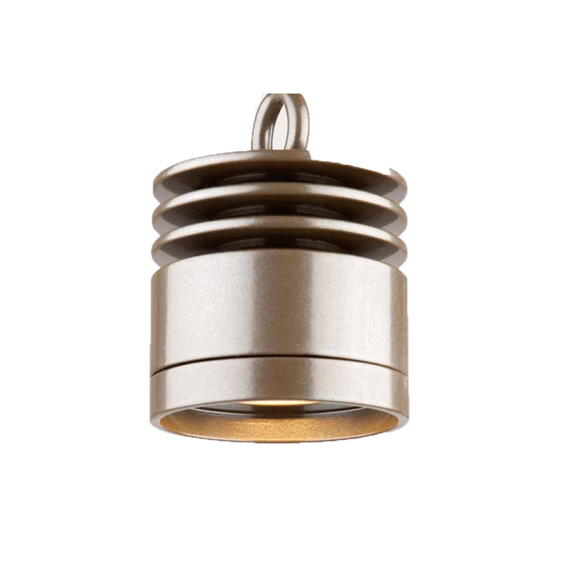 VE Zoning and Dimmable Plus Color Down Light In Bronze Metallic